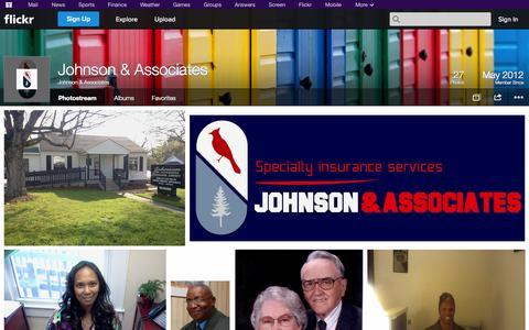 Screenshot of Flickr Page flickr.com - Flickr: Johnson & Associates' Photostream - captured Oct. 26, 2014