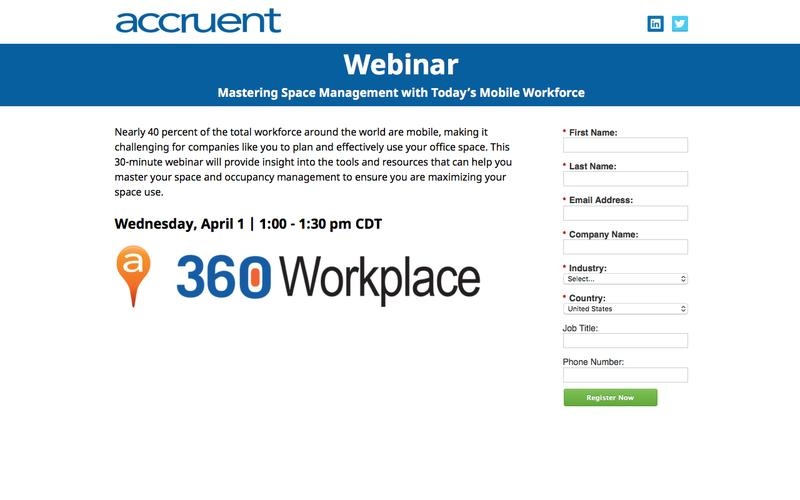 Webinar Registration | 360Workplace