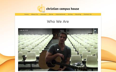 Screenshot of About Page mizzoucch.org - About Us «  Mizzou Christian Campus House - captured July 30, 2017