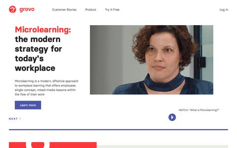 The Microlearning® Company -                         Grovo