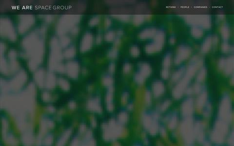 Screenshot of Press Page spacegroup.co.uk - news   We are Space Group   Rethink: your world - captured Sept. 30, 2014
