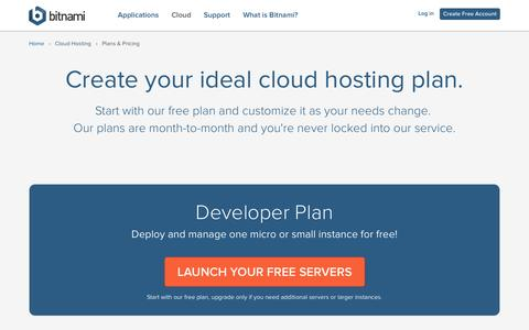 Screenshot of FAQ Page Pricing Page bitnami.com - Pricing for Bitnami Cloud Hosting - captured Oct. 22, 2014