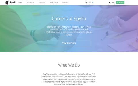 SpyFu Careers - Best Software Company to Work for Scottsdale, AZ