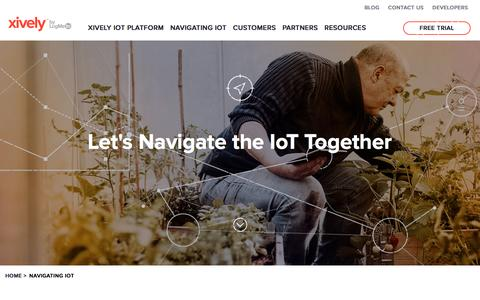 IoT applications, platforms, and security | Xively by LogMeIn