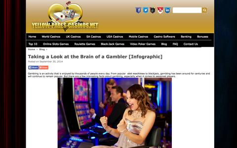Screenshot of Blog yellow-pages-casinos.net - Blog - captured Sept. 30, 2014