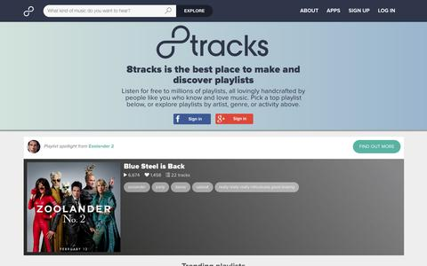 8tracks internet radio | Free music playlists | Best app for music