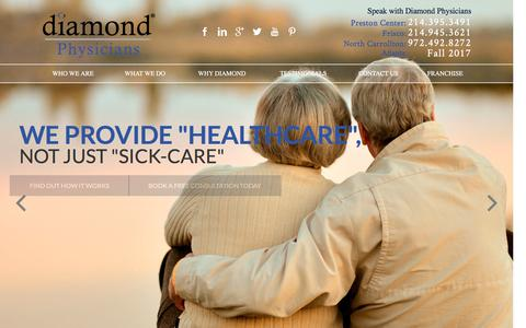 Find a Physician in Dallas and Frisco - Diamond Luxury Healthcare