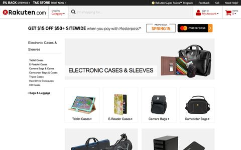 Electronic Cases & Sleeves - Rakuten.com