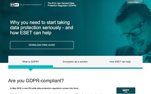General Data Protection Regulation Free Guide | ESET