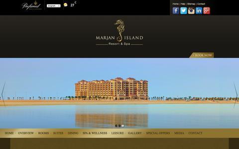 Screenshot of Jobs Page marjanislandresort.com - Careers | Marjan Island Resort & Spa - captured Oct. 27, 2014