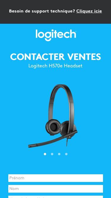 Logitech H570e Headset | Contact Us