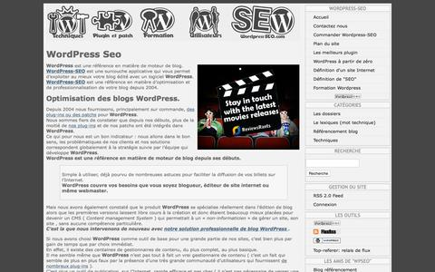 Screenshot of Home Page wordpress-seo.com - WordPress-SEO : Optimisation de blog Wordpress. - captured Oct. 17, 2015