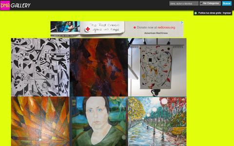 Screenshot of Home Page 10000artistas.com - Disfrutá de nuestra nueva herramienta: Sensaciones | Exponga sus dibujos, pinturas, esculturas y fotografías GRATIS | 10000artistas.com - captured Feb. 27, 2016