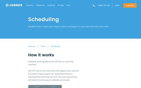 Job Scheduling Software for Service Businesses | Jobber