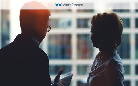 Screenshot of Landing Page wordstream.com - 9 Tips for Agencies with Law Firm Clients: How to Win with PPC - captured Oct. 23, 2017