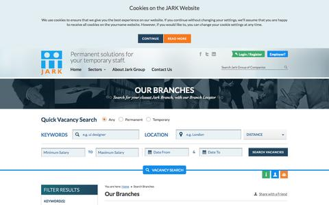 Find a UK job with Jark - Recruitment Experts in Commercial, Construction, Driving, Healthcare and Industrial Staff