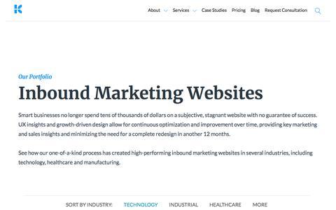 Inbound Marketing Websites | Kuno Creative