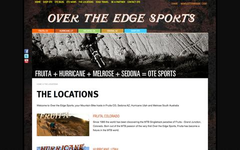 Screenshot of Locations Page otesports.com - The Locations | OTE Sports - captured Oct. 6, 2014