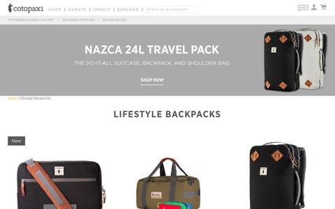Lifestyle Bags – Cotopaxi