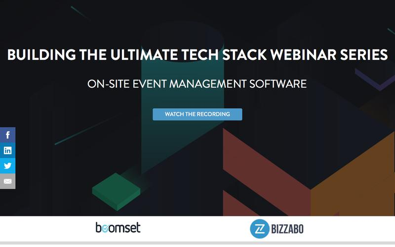 The Ultimate Event Stack: On-site Event Management Software