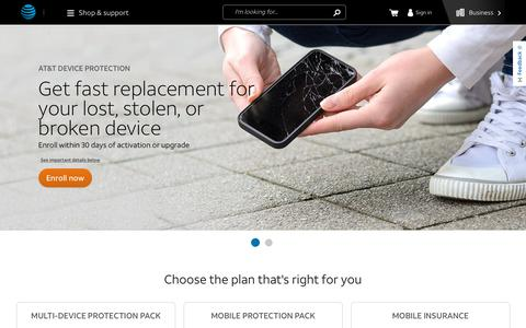 AT&T Cell Phone Insurance & Protection