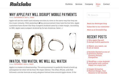 News - Raizlabs