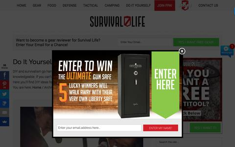 Do It Yourself | Survival Life Prepping & Skills