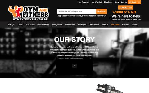 Screenshot of About Page gymandfitness.com.au - About Gym and Fitness - captured Jan. 18, 2016