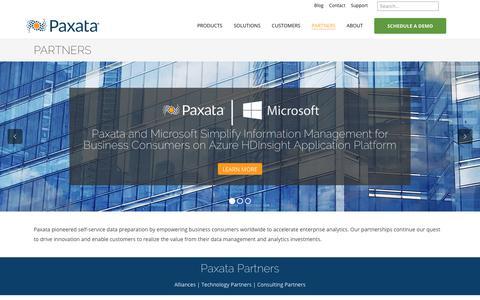 Partners   Paxata