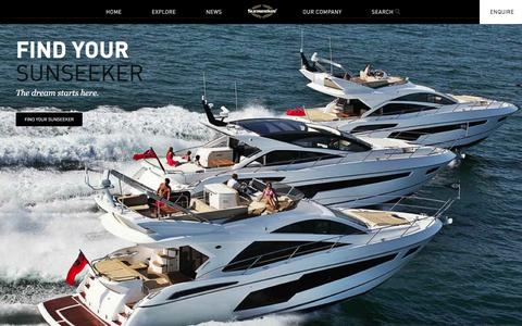 Screenshot of Home Page sunseekermalta.com - Sunseeker Malta - Sunseeker Malta - captured Jan. 12, 2016