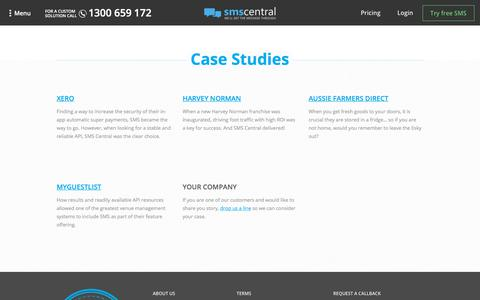 SMSCentral - Our Customers