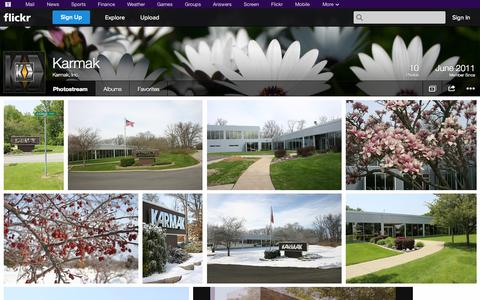 Screenshot of Flickr Page flickr.com - Flickr: Karmak, Inc.'s Photostream - captured Oct. 23, 2014