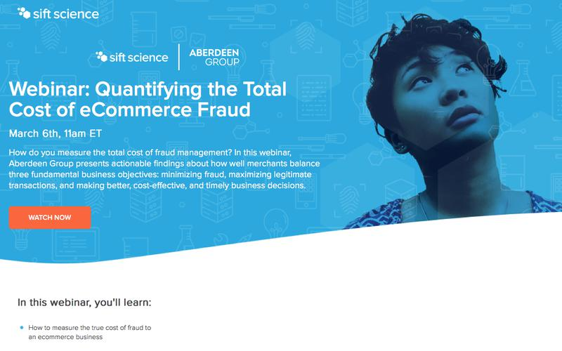 Webinar | Quantifying the Total Cost of eCommerce Fraud