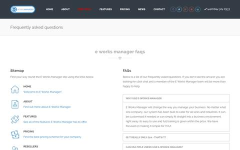 E Works Manager - Job Management Software