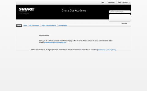 Accenture Academy - Home