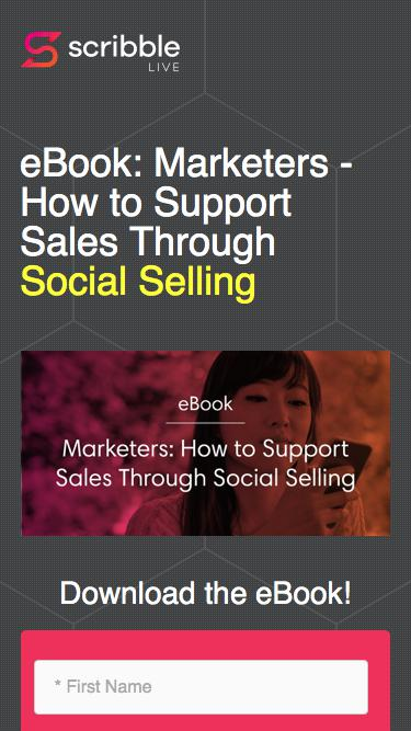 Marketers: How to Support Sales Through Social Selling