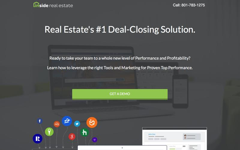 Inside Real Estate - Website, Lead-Generation, CRM & Automation System