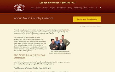 Amish Craftmanship | Custom Built Gazebos | Amish Country Gazebos