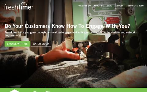 FreshLime | Technology to grow and amplify your business