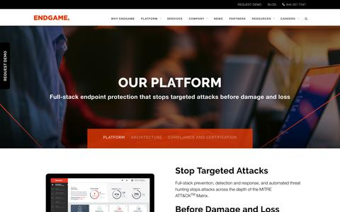 Endpoint Security Platform | EndgamePlatform | Endgame