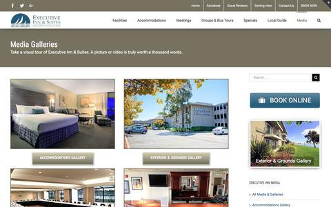 Screenshot of Press Page executiveinnoakland.com - Hotels near Oakland Airport | Executive Inn Oakland - captured Feb. 2, 2016