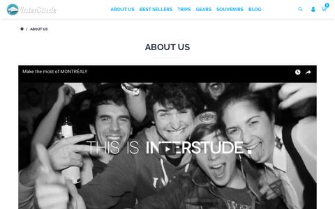 Screenshot of About Page interstude.com - About Us – InterStude - captured Nov. 30, 2017