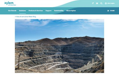 Screenshot of Terms Page xylem.com - Pump Rental in Mining Applications - Xylem Rental Solutions   Xylem US - captured Nov. 9, 2019