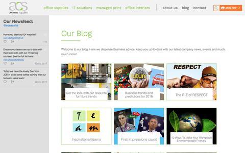 Screenshot of Blog acsacs.co.uk - Blogs - captured Oct. 6, 2017