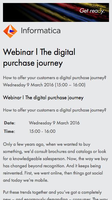 Webinar | The digital purchase journey