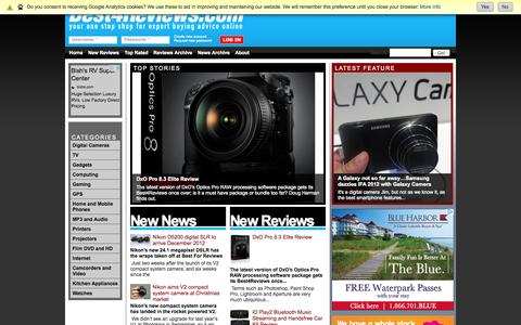 Screenshot of Home Page best4reviews.com - Best4Reviews.com | Your one stop shop for expert buying advice online - captured Oct. 5, 2014
