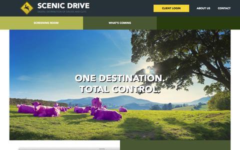 Screenshot of Press Page ddmedia.ca - Scenic Drive - captured Oct. 5, 2014