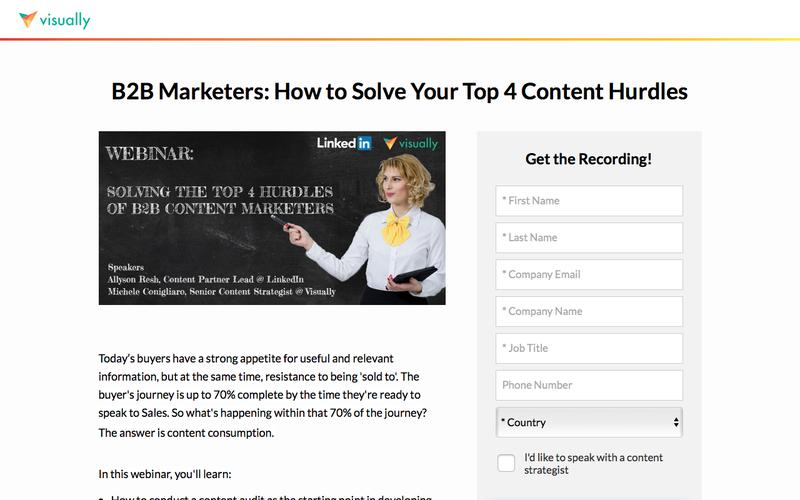 B2B Marketers: How to Solve Your Top 4 Content Hurdles