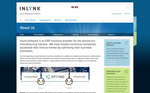 Screenshot of About Page inlynksoft.com - About Us   Inlynk Software Inc. - captured Oct. 6, 2014