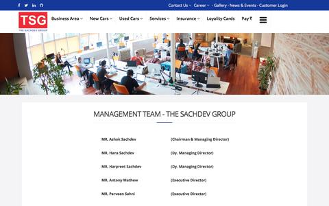 Screenshot of Team Page thesachdevgroup.com - Management - The Sachdev Group - captured Oct. 26, 2017